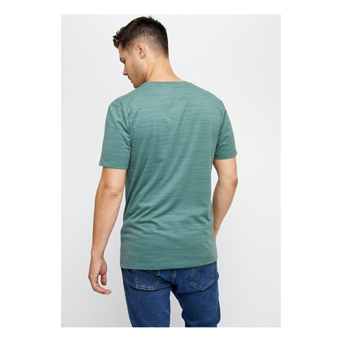 Mazine Keith Striped (forest) – T-Shirt