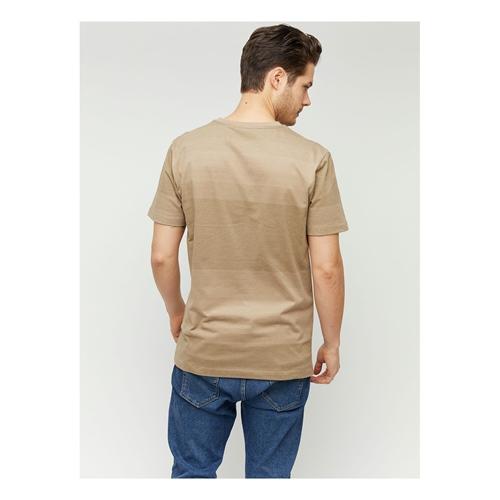 Mazine Carno Striped (tan) – T-Shirt