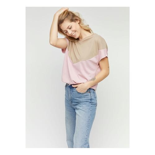 Mazine Mina (tan/blush) – T-Shirt