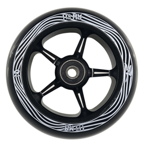 AO Pentacle 30 x 115mm (black) – Wheel