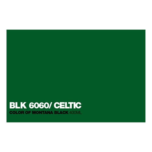 Graffiti Sprühdose BLK6060 Celtic