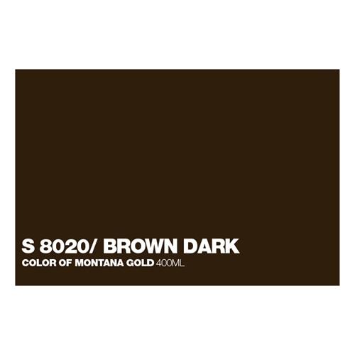 Graffiti Sprühdose GLDS8020 S.Brown Dark
