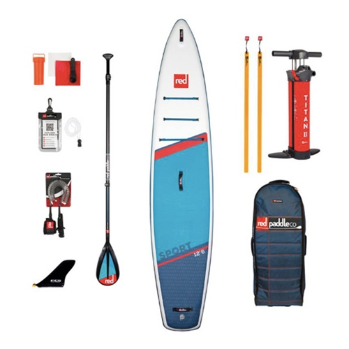 Red Paddle Co Sport 12'6″ – SET