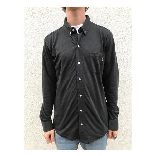 Wemoto Shaw Melange (Black) – Hemd