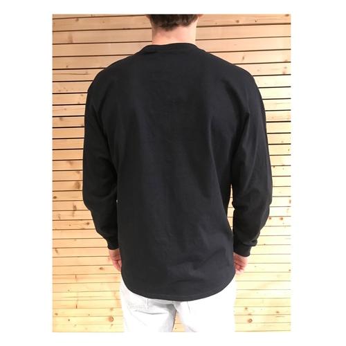 HUF Woz Embroidery (Black) – L/S