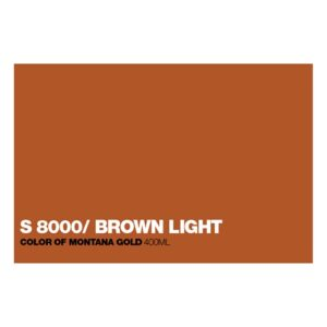 Graffiti Sprühdose GLDS8000 S.Brown Ligh