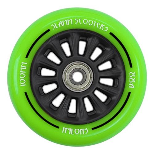 Slamm Ny- Core 100 mm (green) – Wheel