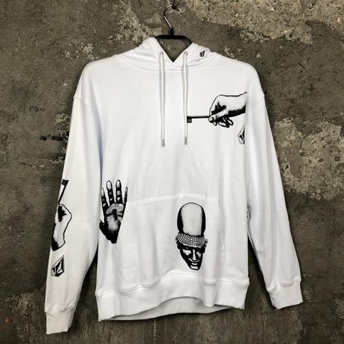 Volcom FA P/O Fleece (white) – Hoody