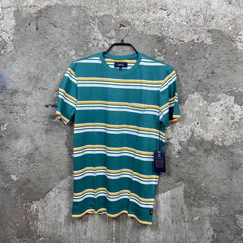 Roark Kasbah Stripe Knit (blue) -T-Shirt