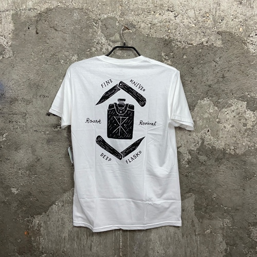 Roark Fine Knives Deep Flasks – T-Shirt