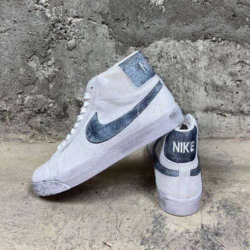 NikeSB Zoom Blazer Mid (grey) – Sneaker