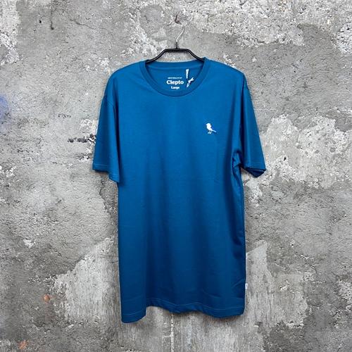 Cleptomanicx Embro Gull (blue) – T-Shirt