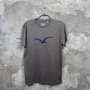 Cleptomanicx Möwe (elbmud) – T-Shirt