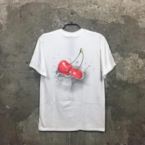 Huf Wet Cherry (white) – T-Shirt