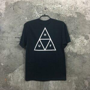Huf Essential (black) – T-Shirt