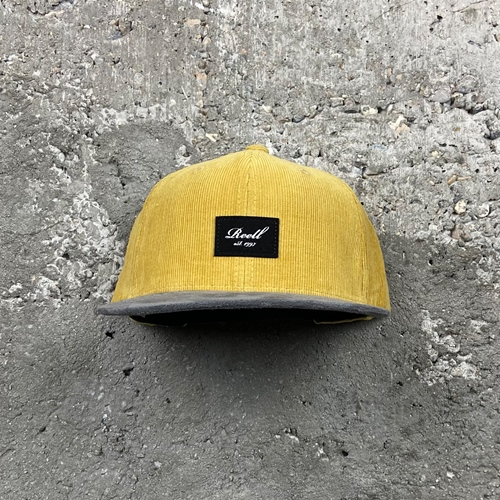 Reell Suede RibCord (yel.brown) – Cap