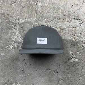 Reell Flat 6 Panel (charcoal) – Cap