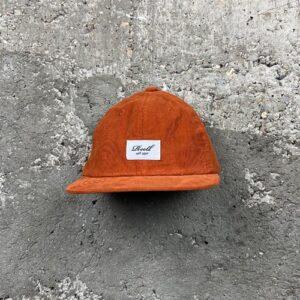 Reell Flat 6 Panel Cord (orange) – Cap