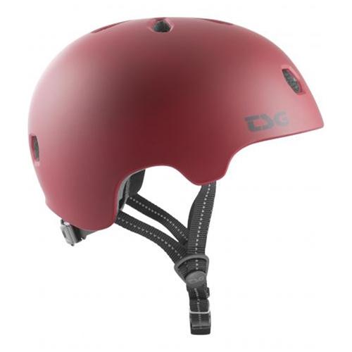 TSG Meta Solid Color (oxblood) – Helm