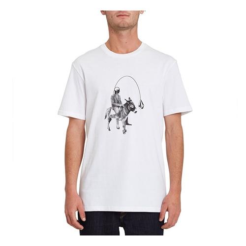 Volcom Ass Off (white) – T-Shirt