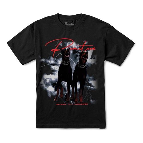 Primitive Friends Washed (black) T-Shirt