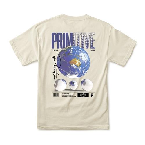 Primitive Worldwide (cream) -T-Shirt