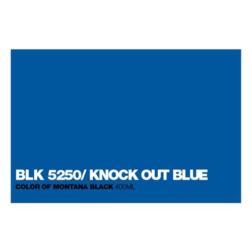 Graffiti Sprühdose BLK5250 Knock out Blu