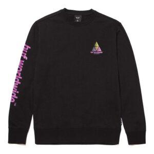 Huf Prism (black) – Crewneck