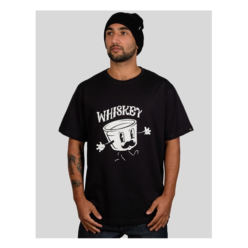 The Dudes Whiskey (black) – T-Shirt