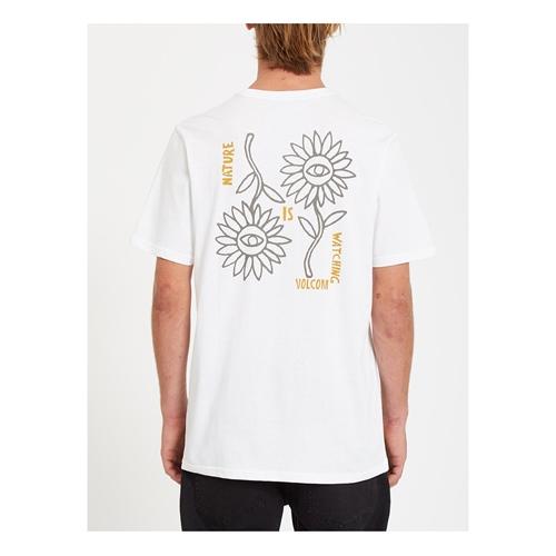 Volcom Daisy Flip (white) – T-Shirt