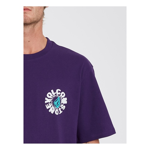 Volcom Nausea LSE (violet) – T-Shirt