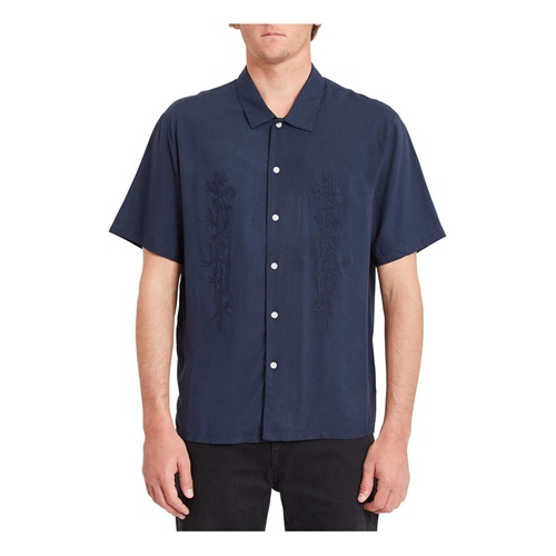Volcom Louie Lopez Woven (navy) – Hemd