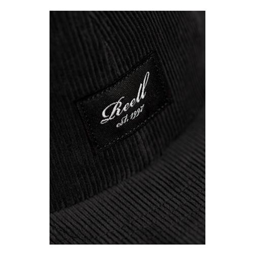 Reell Flat 6-Panel Cord (black) – Cap