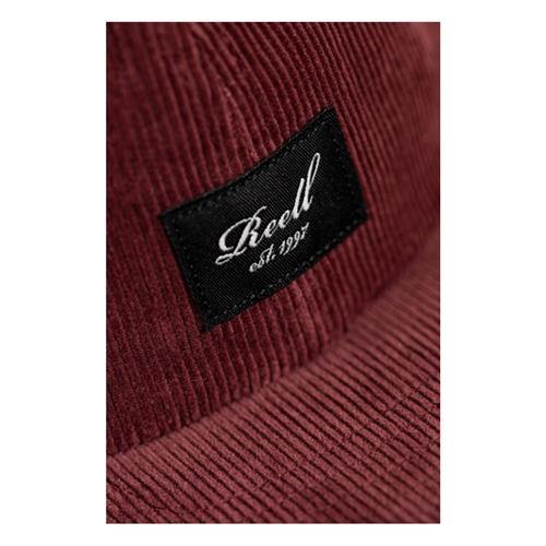 Reell Flat 6-Panel Cord (wine) – Cap