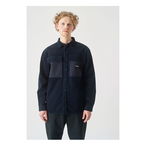 Clepto Steezy Cord (navy) – Hemd