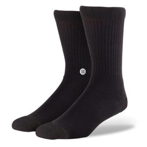 Stance Icon 3 Pack (black) – Socken
